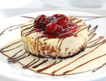 Chocolate Raspberry Cheesecake from Culinary Arts Specialties