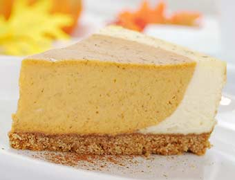 Pumpkin Cheesecake from Culinary Arts Specialties