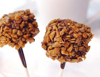 Salted Caramel Pops from Culinary Arts Specialties